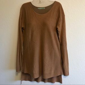 Maurices Brown Long Sleeve Top